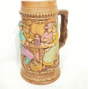 Vintage Ceramic German Mug